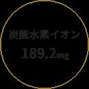 炭酸水素イオン 189.2mg